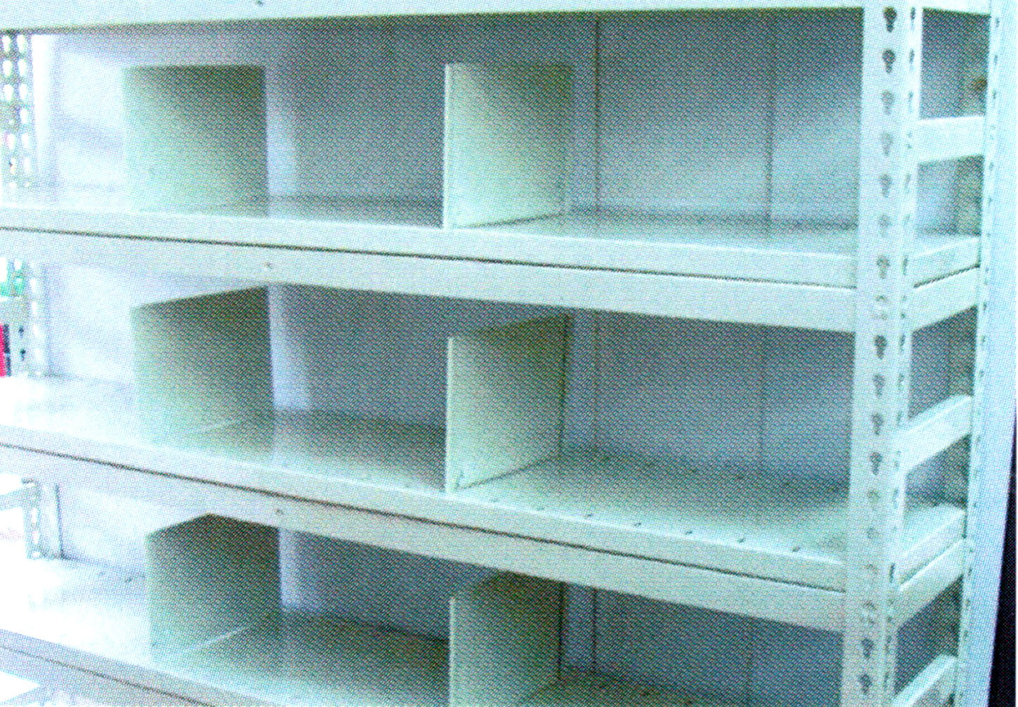 Steel Shelve with Divider
