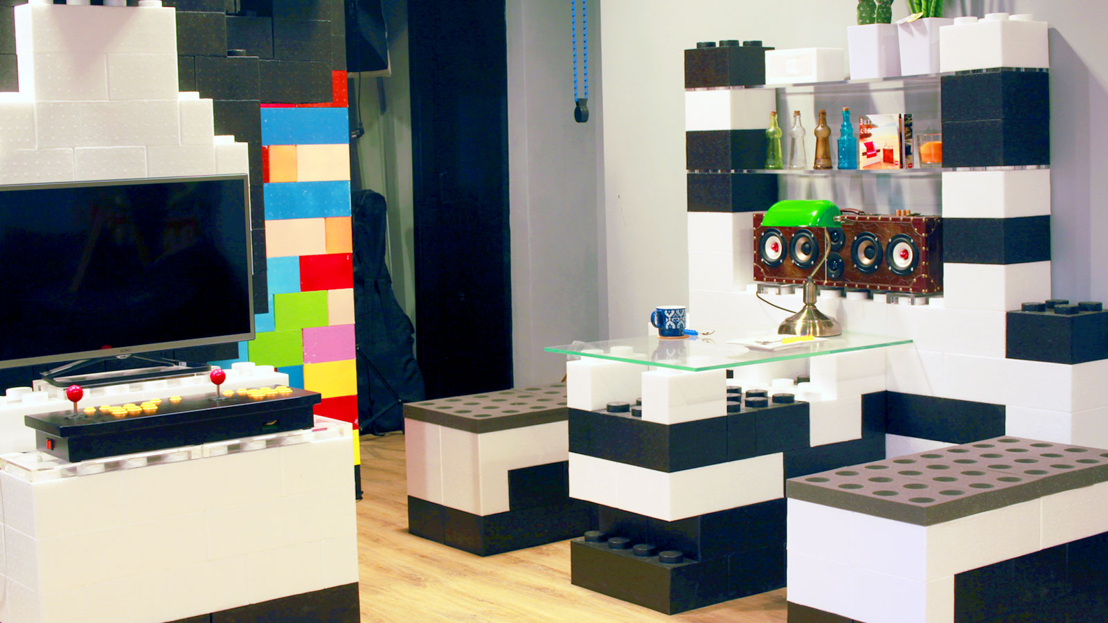 Modular Bricks Furniture