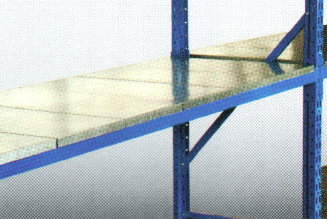 Steel Shelf Decking