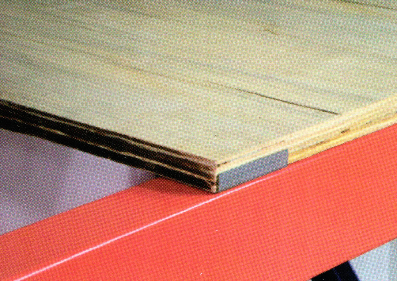Plywood Decking with plywood Retainer