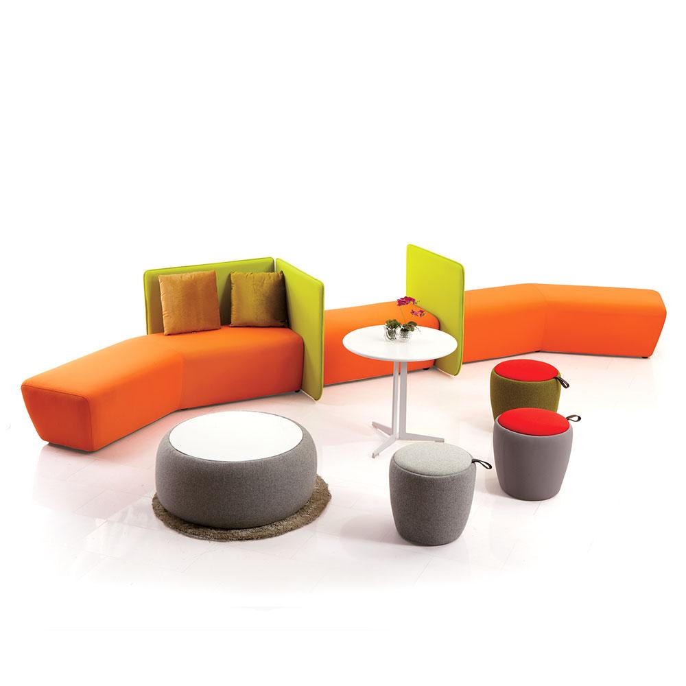 Keep U Dea Set C Modular Office Sofa