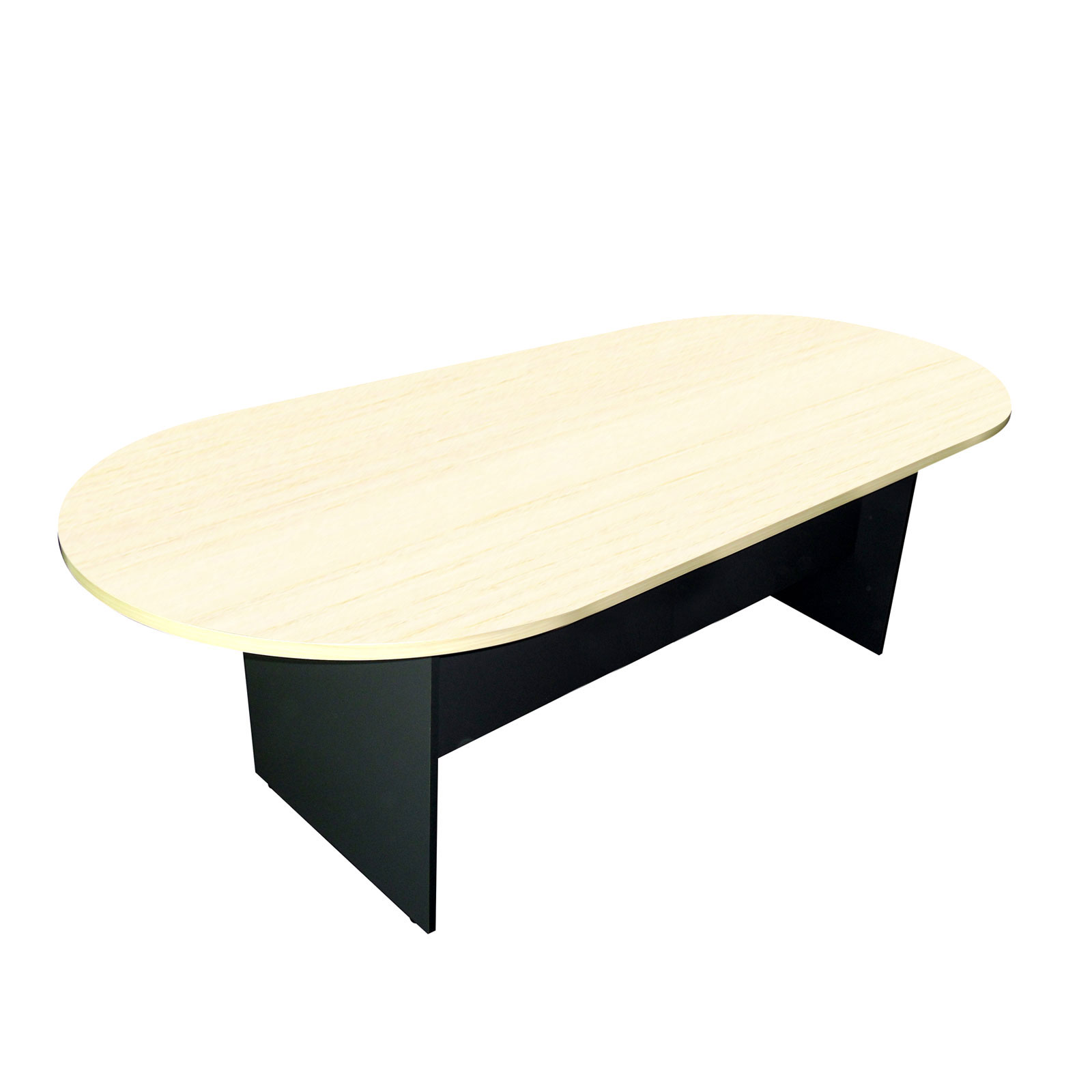 Meeting Table Wooden Oval Shape