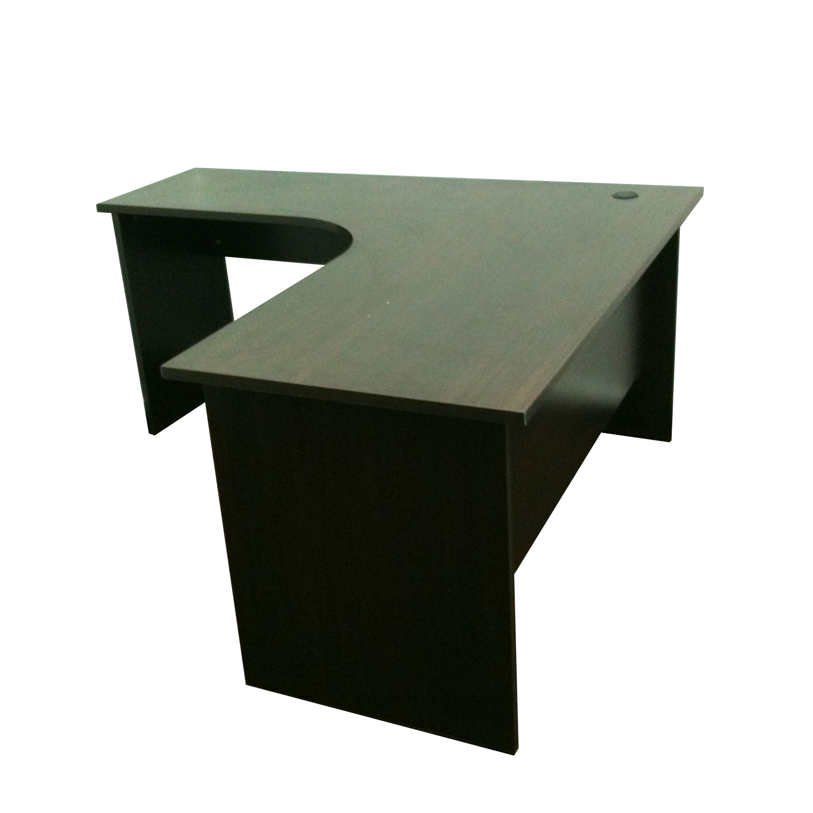 L Shape Table With Round Corner. L ...